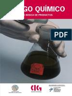 Riesgo Químico. Guía Básica de Productos. v.cast.