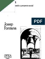 J Fontana Historia Analisis Del Pasado y Proyecto Social