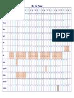 2014 Holiday Planner - RevA - Blank