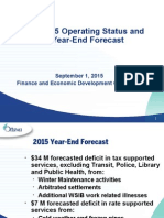 City of Ottawa - Q2 2015 Status Report
