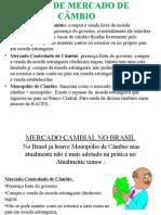 Mercado Cambial Brasileiro