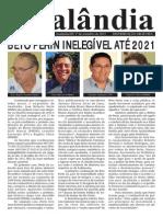 BETO PERIN INELEGÍVEL ATÉ 2021