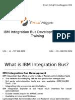 IBM Integration Bus Development Online Training by VirtualNuggets