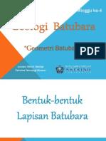 Batubara -Geometri Batubara