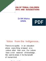 Education of Tribal Children