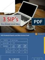 Top 3 Mutual fund Sip for Monthly Savings