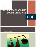 Inequality, Class and Social Structure