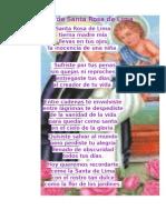 Poesía de Santa Rosa de Lima