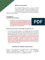 Sentencia Del Tribunal Constitucional Anexos