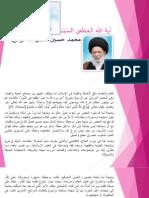 مرجعية السيد محمد حسين فضل الله