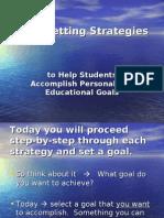 Goal-Setting Strategies