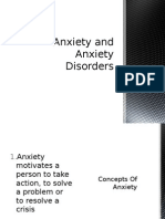 Anxiety and Anxiety Disorders