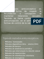 Clase de Anticonceptivos