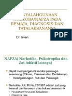 Kp 7.35-7.36 Diagnosis & Penanganan Penyalahgunaan NAPZA