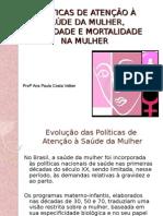 Aula - Políticas de Saúde, Morbidade e Mortalidade
