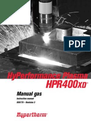 Hypertherm® 220637 HPRXD Beveled Shield Cap 200-400 amp