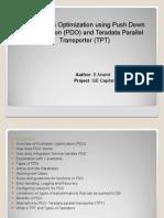 ETL Optimization PDO TPT