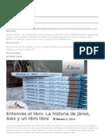 EL LIBRO de JANOS de Alex Appella- Enero en La Ciudad