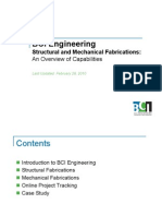 BCI Capabilities Fabrications
