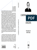Origène - Cardinal Jean Danièlou