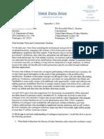 09.01.2015 Senator Warner Letter to BLS
