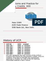 UCP 600 - A Presentation
