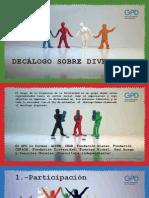 DECALOGO DE LA DIVERSIDAD
