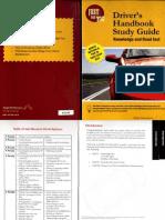 Ontario Drivers Handbook Study Guide