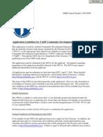 CDCI Application