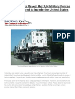Connected Dots Reveal that UN Military Forces Are Now Prepared to Invade the United States.docx