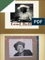 Lead Belly Book Presentation Slides