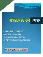 Revision de Formulas