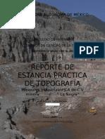 REPORTE ESTANCIA TOPOGRAFIA