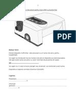 Manual de Instructiuni Pentru Auto CPAP Cu Functie Flex