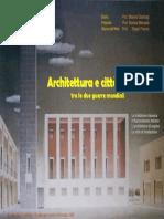 a521. Architettura in Italia 1918-1945