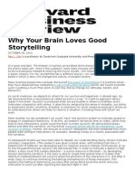 Why Your Brain Loves Good Storytelling- Article
