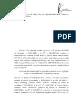 Modelo de Petição Inicial para Autos Simulados