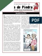 """""""Boca de Piedra"""" Boletín #1 Agosto de 2015"""