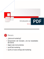 Sesión 1 - Definición y Proceso de Marketing