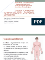 Posiciones anatomica