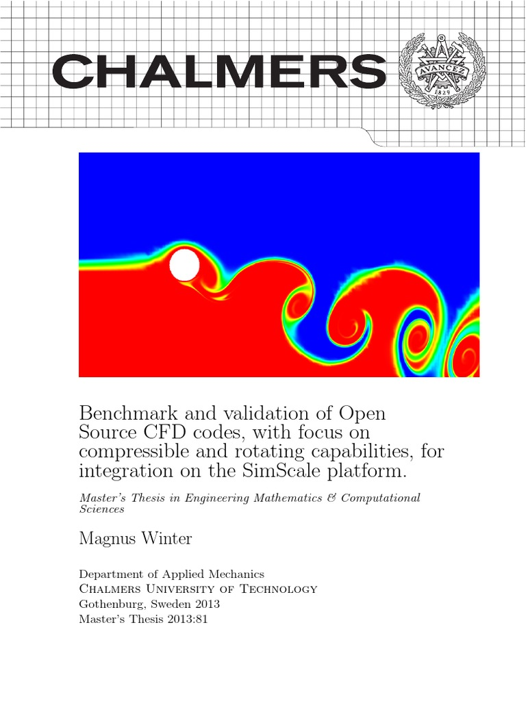 chalmers openfoam thesis