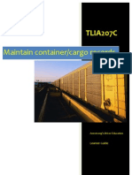 TLIA207C - Maintain Container Cargo Records - Learner Guide