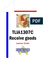 TLIA1307C - Receive Goods - Learner Guide