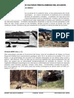 Cronología de Las Culturas Precolombinas Del Ecuador