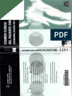 Examen Clinico Del Paciente Con Lumbalgia- PARTE 1