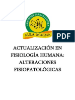 Actualización en Fisiología Humana Alteraciones Fisiopatológicas