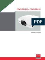 Barco UserGuide TDE7093 01 Manual Del Usuario PGWU 62L K PGWX 62L K