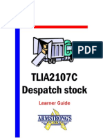 TLIA2107C - Despatch Stock - Learner Guide