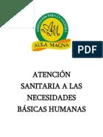 Atencion Sanitaria a Las Necesidades Basicas Humanas