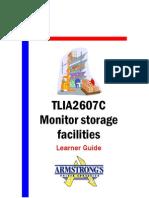 TLIA2607C - Monitor Storage Faciliates - Learner Guide